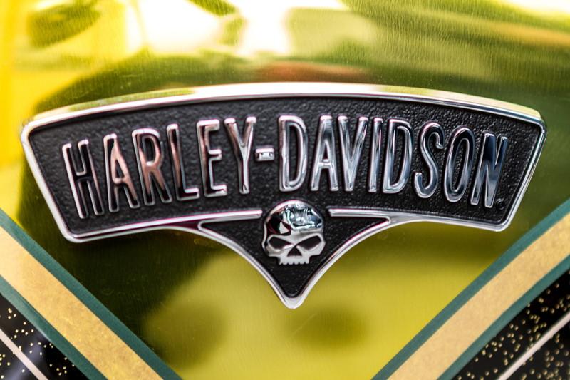 ハーレーのロゴ